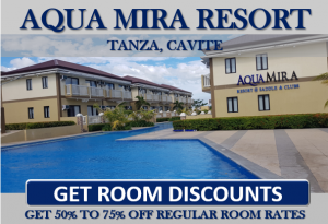 aqua mira discounted room rate